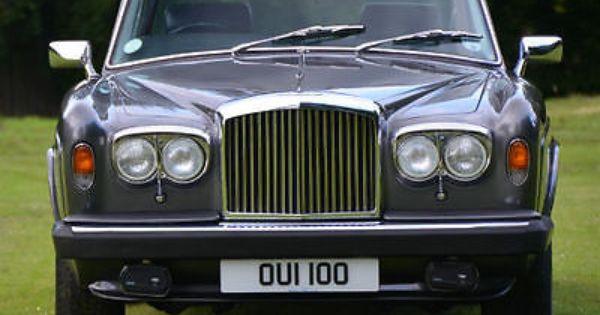 Rolls Royce Corniche Two Door Saloon Chassis Cbh50059 1980 Rolls Royce Bentley Rolls Royce Cars