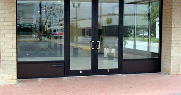 Storefront Doors Sales Installation Repair And Maintenance Valley Wide Aluminium Glass Door Commercial Glass Doors Storefront Doors