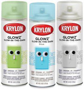 Krylon Fluorescent Glow Paint Glow Paint Glow In Dark Paint Glow