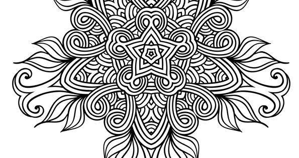 Coloriage mandala ethnique fleur sauvage hugolescargot - Hugo l escargot com coloriage ...