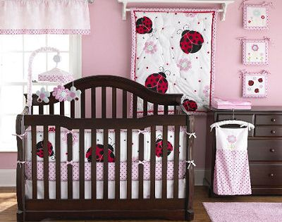 Red And Brown Crib Bedding Sets