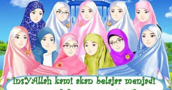 Pin Di Kartun Muslimah