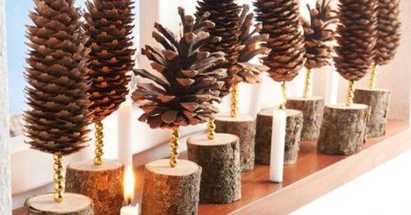 weihnachts deko natur ideen zum selbermachen deko pinterest deko natur selbermachen und. Black Bedroom Furniture Sets. Home Design Ideas