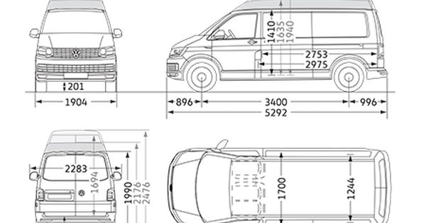 Vw Transporter Panel Van Dimensions Volkswagen Vans And