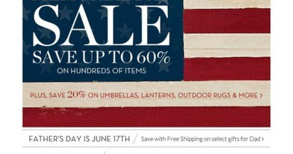 memorial day sale retail
