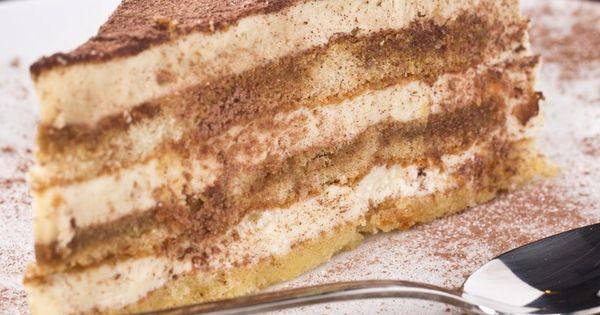 Tiramisu Layer Cake Recipe   Dessert   Pinterest   Inspiration