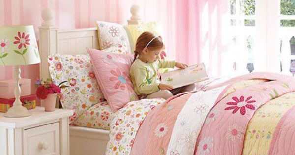 little girl's room - like the baskets under the bed  Baby #2  Pinterest  침실 ...