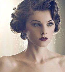 1920s Hairstyles Gatsby Inspired Gatsby Hair Hair Styles Vintage Wedding Hair