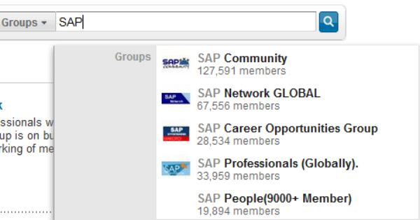 The 50 Largest Linkedin Groups Social Networking Sites Job Hunting Career Opportunities