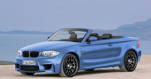The New Bmw 1m Cabrio I Want One In Sedona Red Metallic