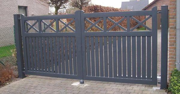 Hekwerk poorten tuinpoorten hekjes pinterest beste idee n over hekwerk poorten en tuin - Tuin oprit plaat ...