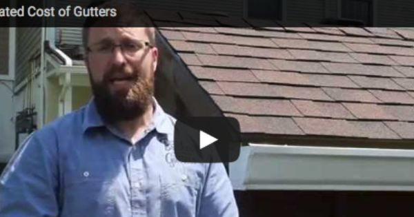 Seamless Gutter Costs Brothers Gutters Seamless Gutters Gutters Gutter Guard