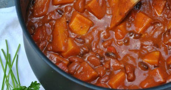 Sweet potato chili, Chili and Potatoes on Pinterest