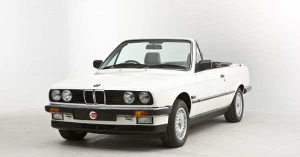 My First Car After College 1990 Bmw 325i Convertible White With