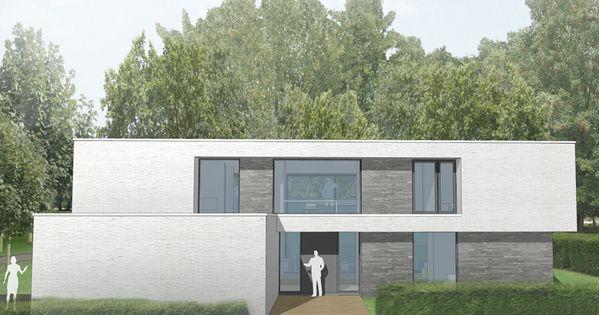 De architecten kiezen ervoor dat er 3 soorten materialen for Dat architecten