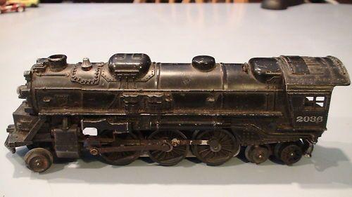 Vintage Antique 2036 Lionel Train