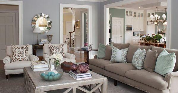Living Room Relaxing Colours Tones Beige Cream Sage