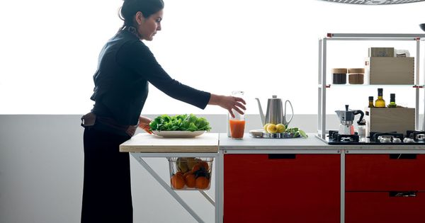 Demode Meccanica Door System Engineered By Valcucine | COCINA | Pinterest |  Doors, Storage Design And Raw Material