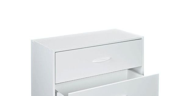 Closetmaid 24 13 In W X 15 75 In H White Stackable 2 Drawer