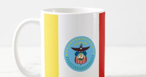 Flag Of Columbus Ohio Coffee Mug Drinkware Cool Special Mugs Custom Mugs Coffee Mugs