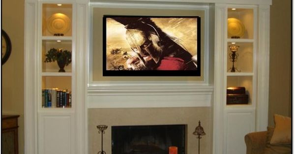 Fireplace Entertainment Center What A Neat Idea Home