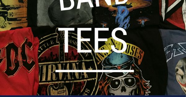 All The Vintage Band Tees - www.band-tees.com...
