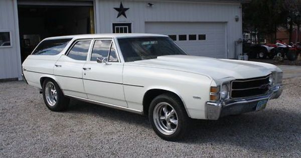 Purchase Used 1971 Chevy Chevelle Concourse Station Wagon In Fremont Ohio United States Chevy Chevelle Station Wagon Chevelle