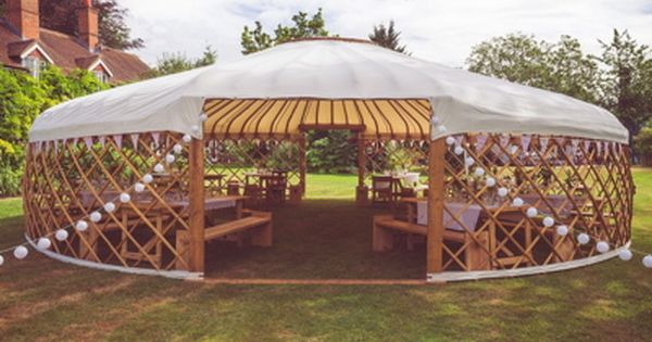These luxury Wedding Yurts have been designed to to host intimate wedding