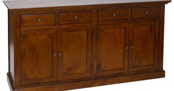 Mueble para comedor aparador r stico para comedor for Mueble 45 cm ancho