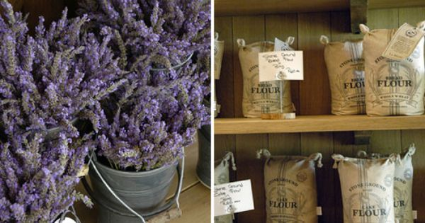 Lavender And Stone Ground Flour From La Motte In Franschhoek