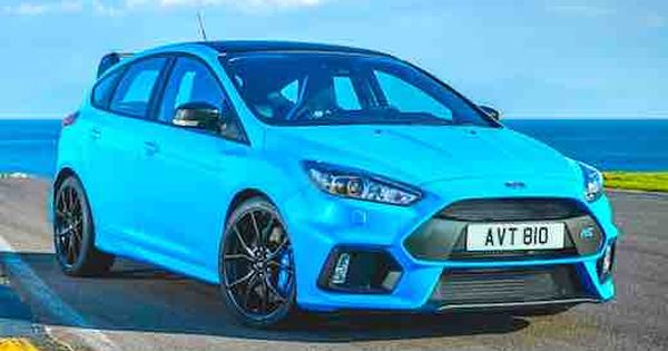 2018 Ford Focus Rs Limited Edition Price Ford Focus Rs Ford Rs