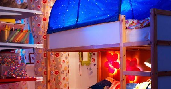 Las posibilidades de la cama kura de ikea indirectas - Luces exterior ikea ...