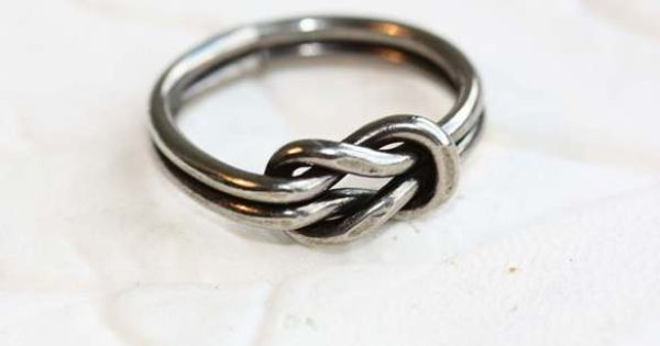 Silver Sailor Knot Ring