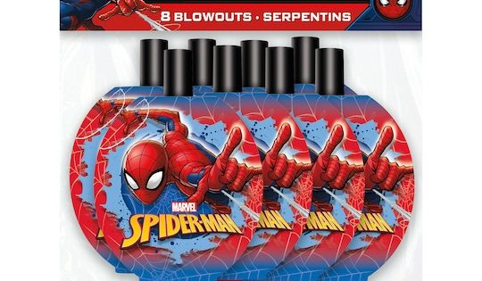 Spiderman Blowouts 8ct