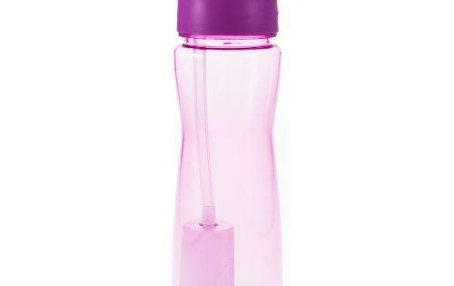 Ecovessel Tritan Ultra Lite Filtration Water Bottle With 100 Gallon Filter 25 Ounces Violet Want Additional Info Bottle Portable Water Purifier