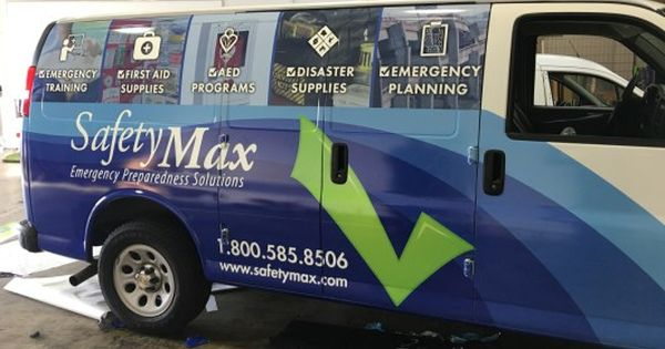Safetymax Van Wrap Van Wrap Van Car Wrap