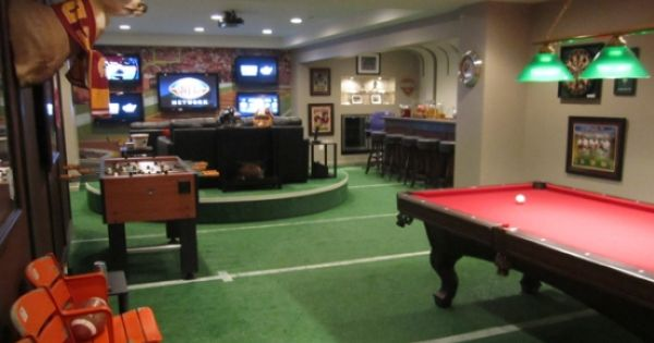 Man Cave Ideas Sports Theme : Golf theme man cave gt dartitup ideas