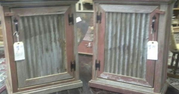 Please Make Me Barn Wood Cabinets Barn Wood Barn Tin