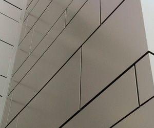 Rainscreen Systems Exterior Wall Cladding Aluminum Composite