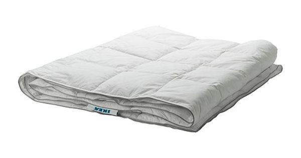 ikea mysa vete dekbed warmteklasse 1 240x220 cm een dun licht donzen dekbed voor wie. Black Bedroom Furniture Sets. Home Design Ideas