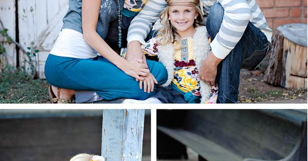 Love what the little girls are wearing and the poses. ..