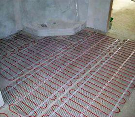 Radiant Heated Floors With Comforttile Heating Mats Heated Bathroom Floor Heated Floors Flooring