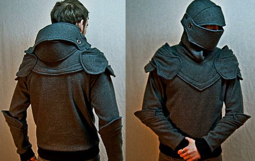 #Knight's Helmet Fleece Hoodie | FollowPics