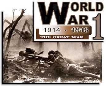 World War I Started 1914 Ended 1918 High School World History World War One World History
