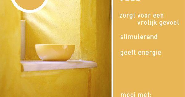 Het zonnetje in huis dimago kleur inspiratie dimago color inspiration pinterest geel - Kleur gevel eigentijds huis ...