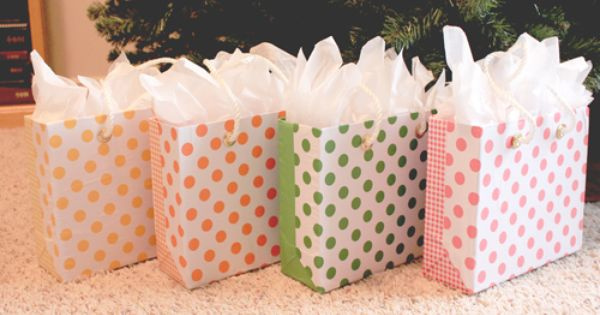 Repurposing laundry detergent boxes into gift boxes