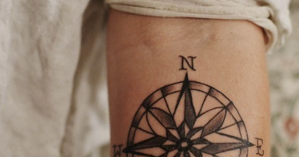 Travel Tattoo Ideas - compass