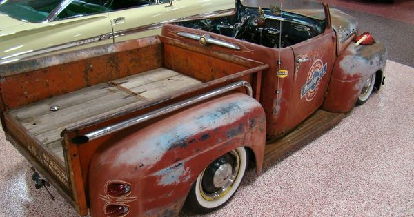 Image detail for gas monkey garage 1952 ford rat rod for Garage auto b2