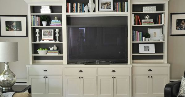 planning to hack an ikea entertainment center to look like this entertainment center. Black Bedroom Furniture Sets. Home Design Ideas