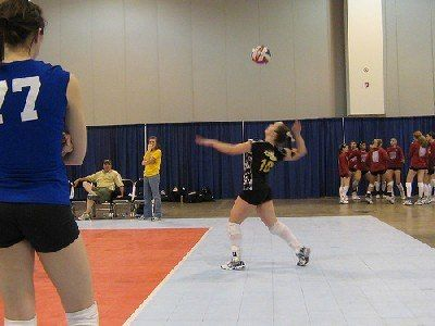Serving Techniques And Serve Types Volleyball Training Volleyball Drills Volleyball Tips